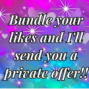 Bundle your likes!!😊
